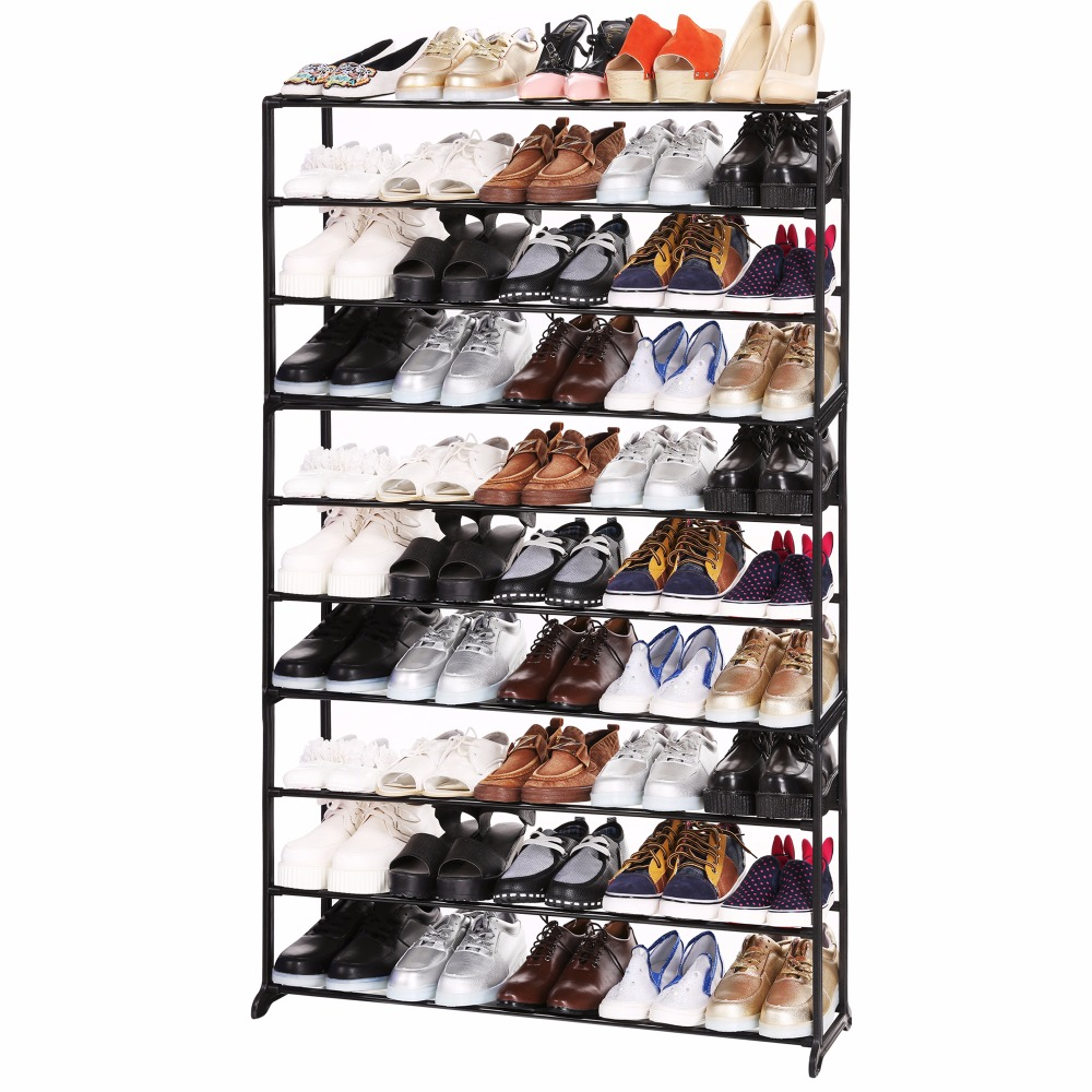 Homdox дома Портативный 4/7/10 уровня Обувь стойки полки Обувь органайзер для хранения N20 * ...