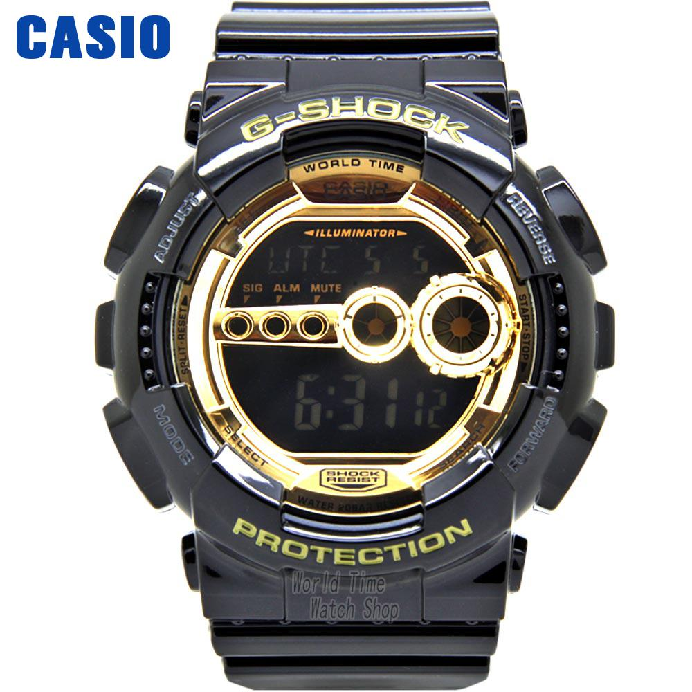 Casio WATCH shockproof waterproof sports men watch GD-100GB-1D casio casio gd x6900mc 5e