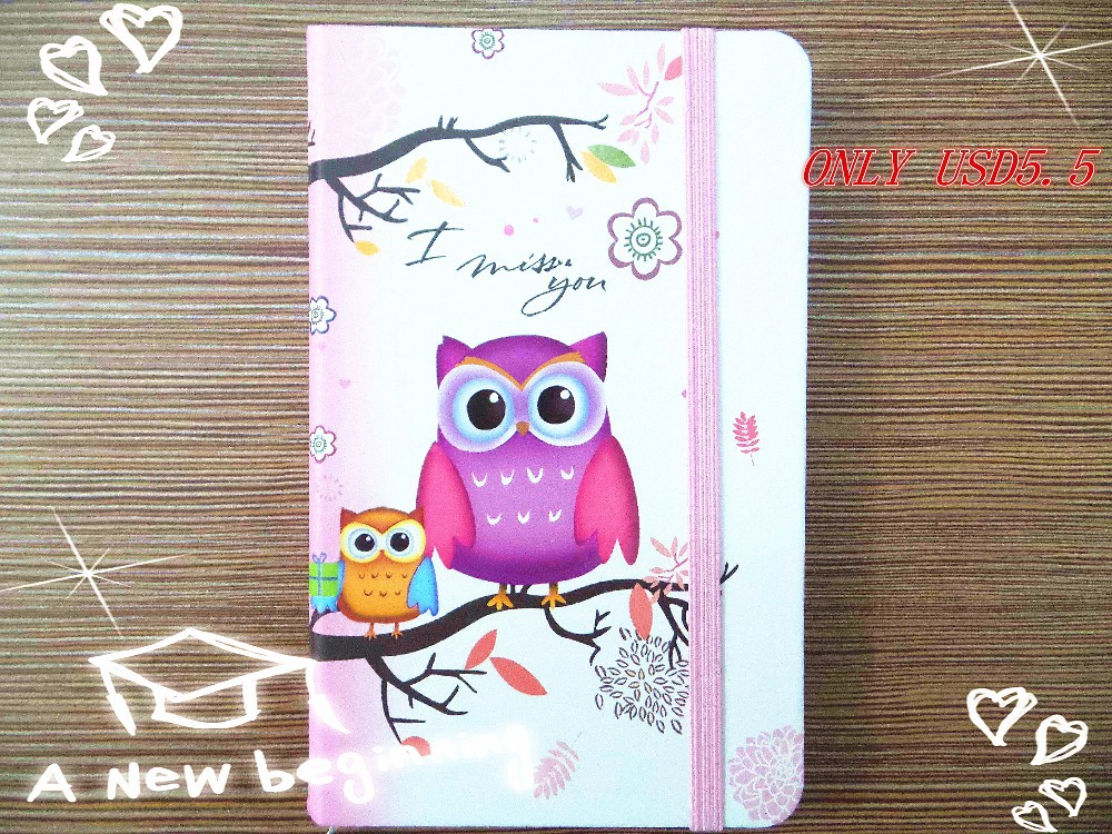 New arrival Fashion Cute Charming Mini Portable owl hard cover Paper Diary Notebook school Memo Note Book notepad free shipping new style fashion cute charming mini portable owl hard cover paper diary notebook school memo note book notepad free shipping
