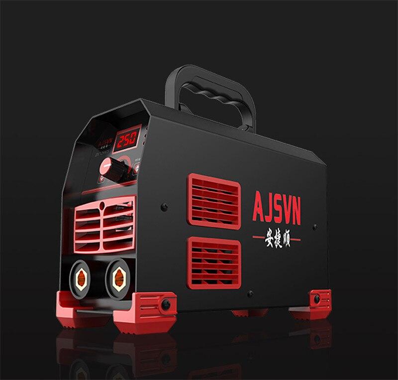 Neue 220V Einstellbare 20A-250A 4200W Handheld IGBT Inverter Arc Schweißer-Schweißen Maschine Digital Display Mini Tragbare Schweiß werkzeug