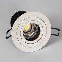 Nieuws COB 15 W Dimbare Warm Wit Natuurlijk Wit Koel Wit led downlight led inbouwspots Met led driver 85 ~ 265 V/AC