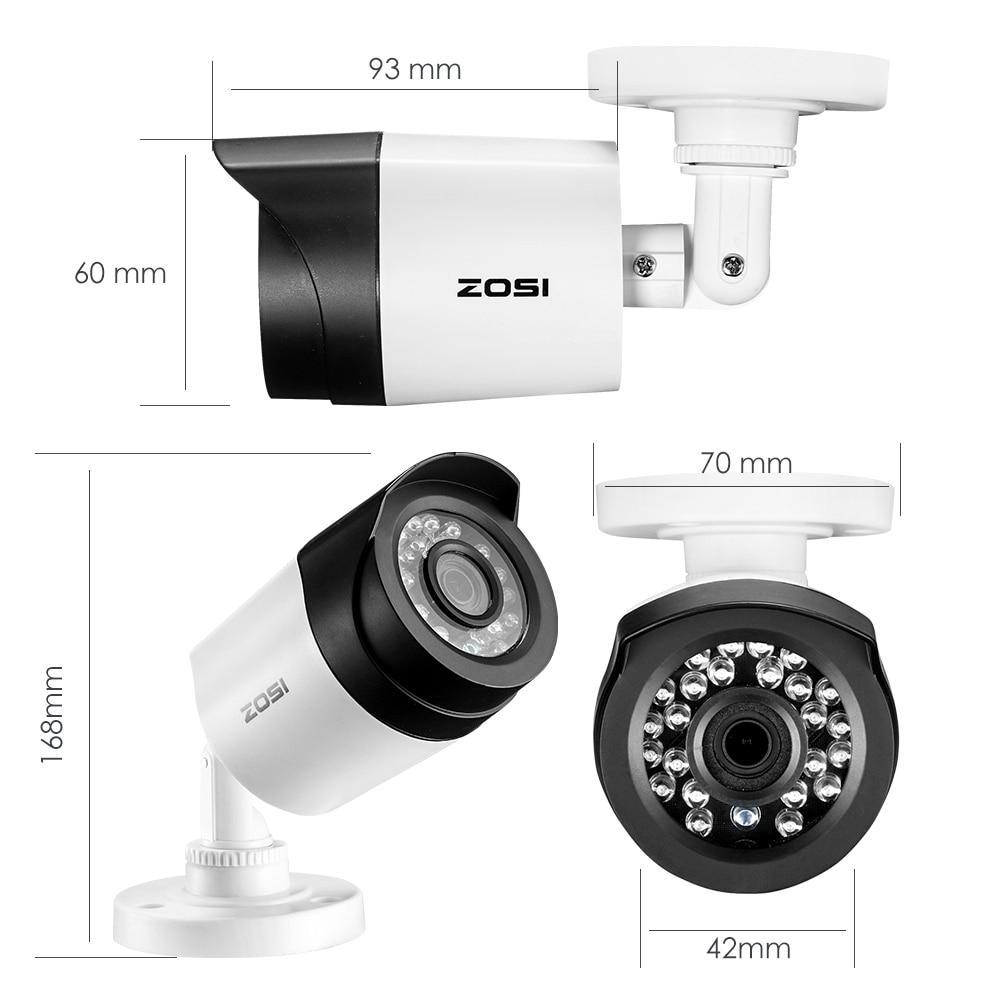 ZOSI 8CH 1080P TVI DVR 2.0MP 1080P CCTV Camera P2P Home Outdoor - Säkerhet och skydd - Foto 3