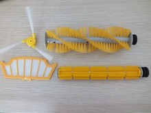 (For modelA320/A325/A330/A335/A336/A337/A338) Spare part for Robot Vacuum Cleaner,Hair Brush,Rubber Brush,Side Brush,HEPA Filter