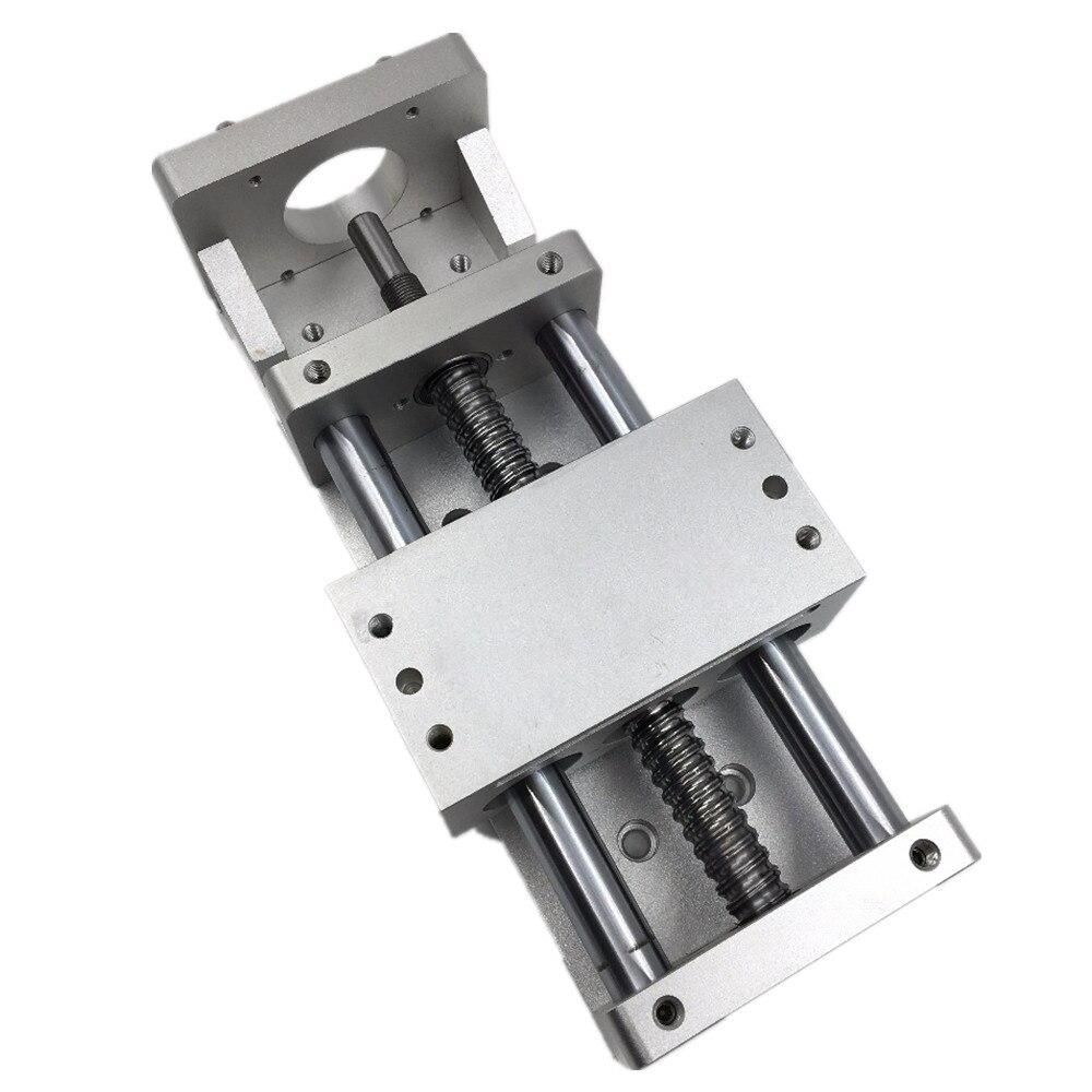 200mm course linéaire Guide étape croix glissière électrique Table coulissante SFU1605 L-200mm vis à billes Table de travail CNC fraiseuse