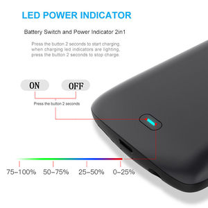 Image 5 - Schokbestendig battery charger case Voor Samsung Galaxy S9 S8 Plus Note 9 Externe Draagbare oplader Cover power bank Opladen case