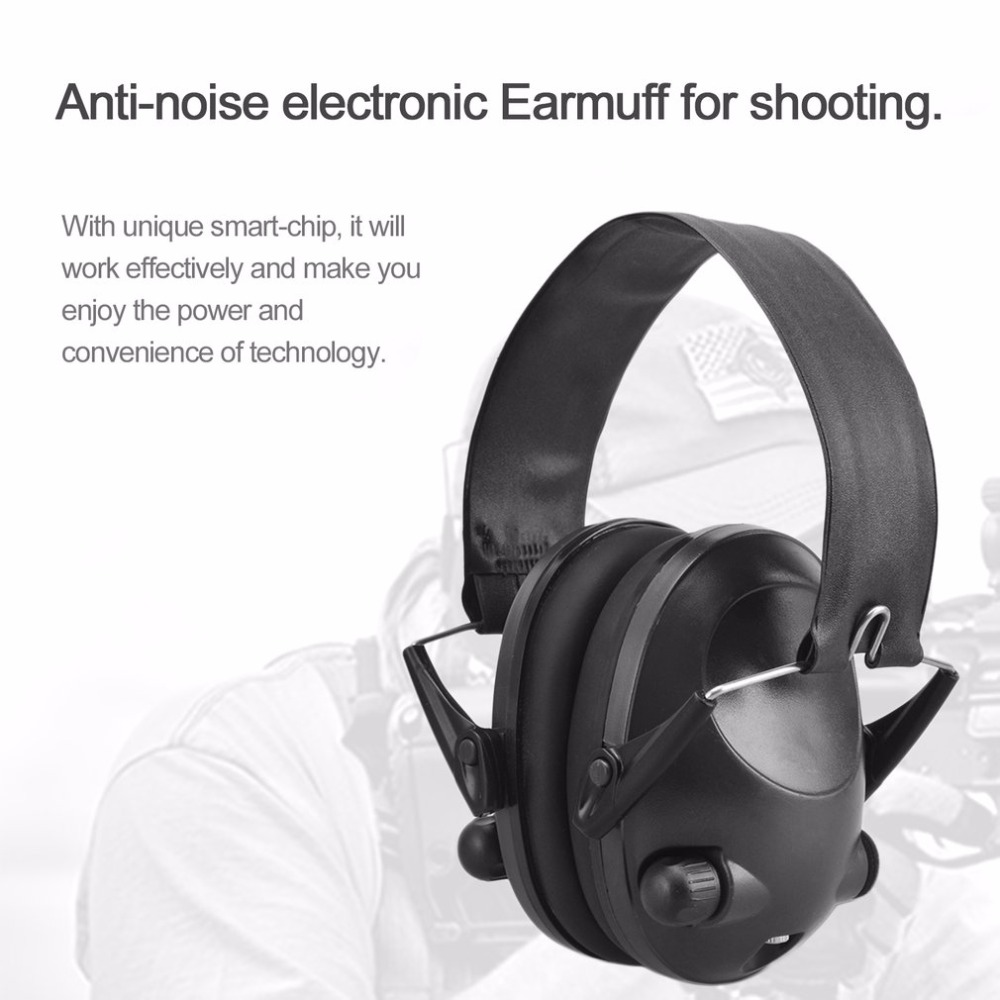 LESHP Tactical Headphones For Hunting Shooting Sport Noise TAC 6s Canceling Electronic Earmuffs Electric Shock Absorber leshp tactical sport headphones for hunting shooting sport noise tac 6s hearing protector earmuffs folding protection