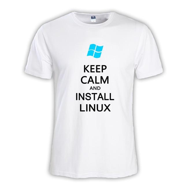 2018 летние модные мужские футболки мастер NERD freak хакер pc gamer программиста систем топы для мальчиков футболки Мужчины Win10 Linux одежда