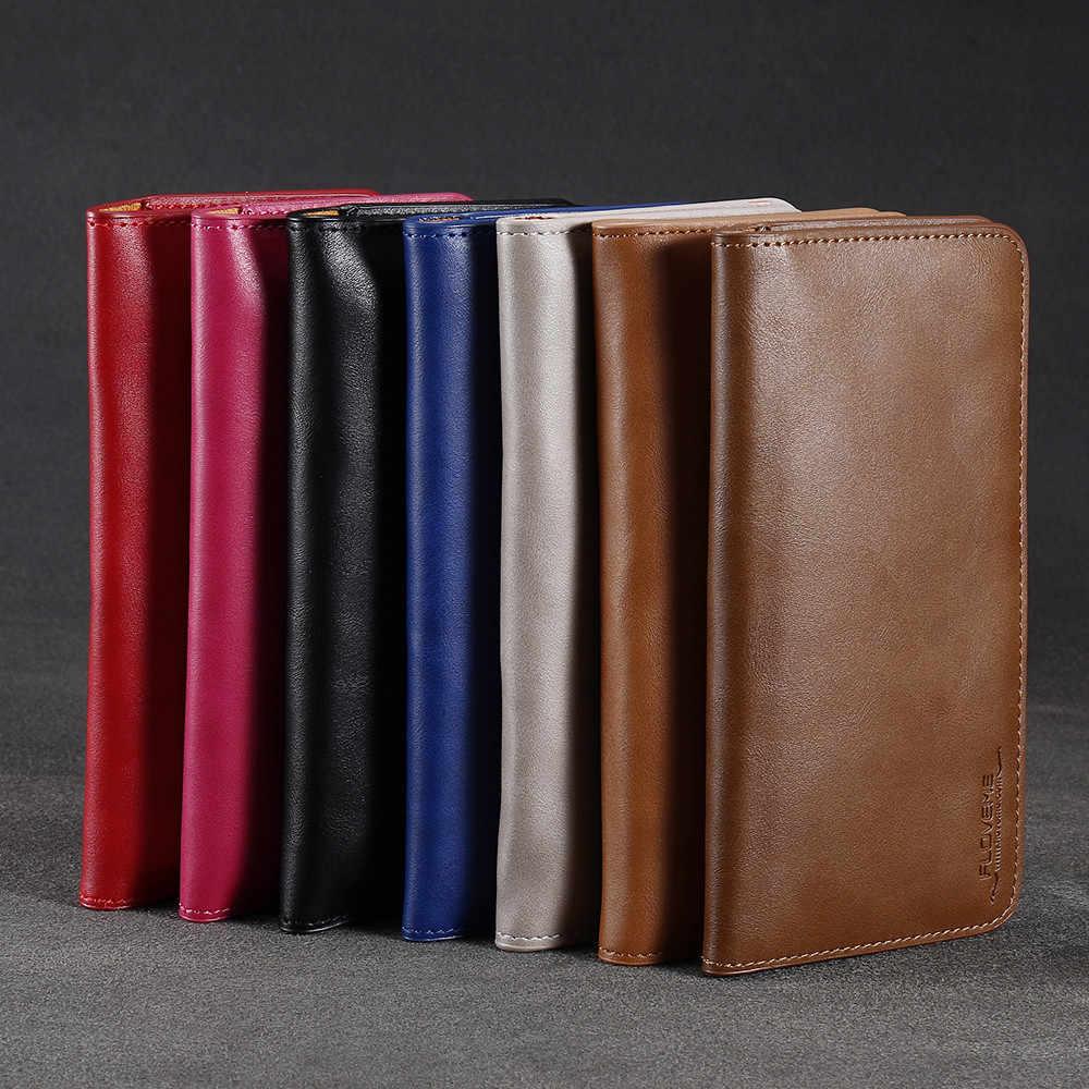 FLOVEME Ретро Кожаный чехол-кошелек чехол для iPhone 7 8 6 6S Plus для LG G5 G4 G3 универсальный чехол для мобильного телефона samsung S7