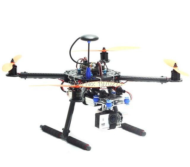 LJI 500 X4 500mm Marco de Fibra de Carbono Quadcopter S500 SK500 ...
