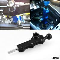 For WRX Aluminum Alloy Manually Adjustable Double Adjustment Gear Lever For Subaru