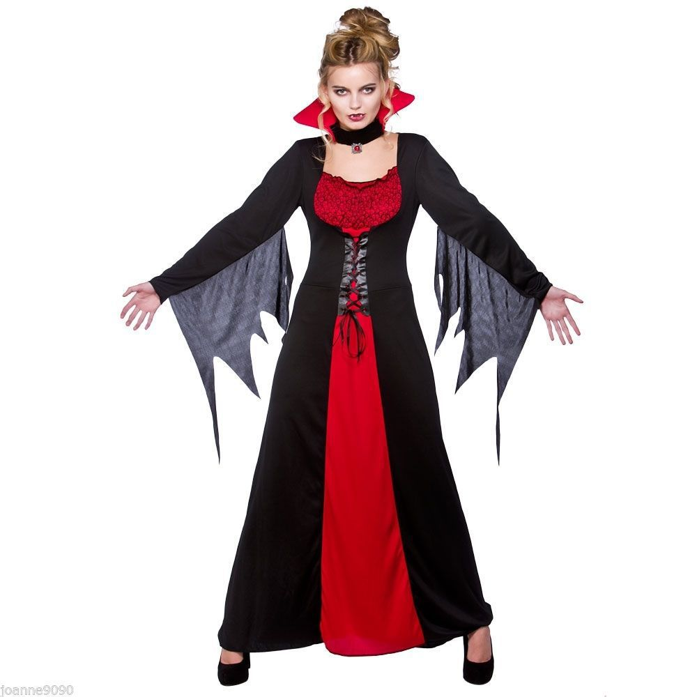 free shipping hot sale vampiress queen costume halloween sexy costumes for women elegant sexy vampire dress - Classic Womens Halloween Costumes
