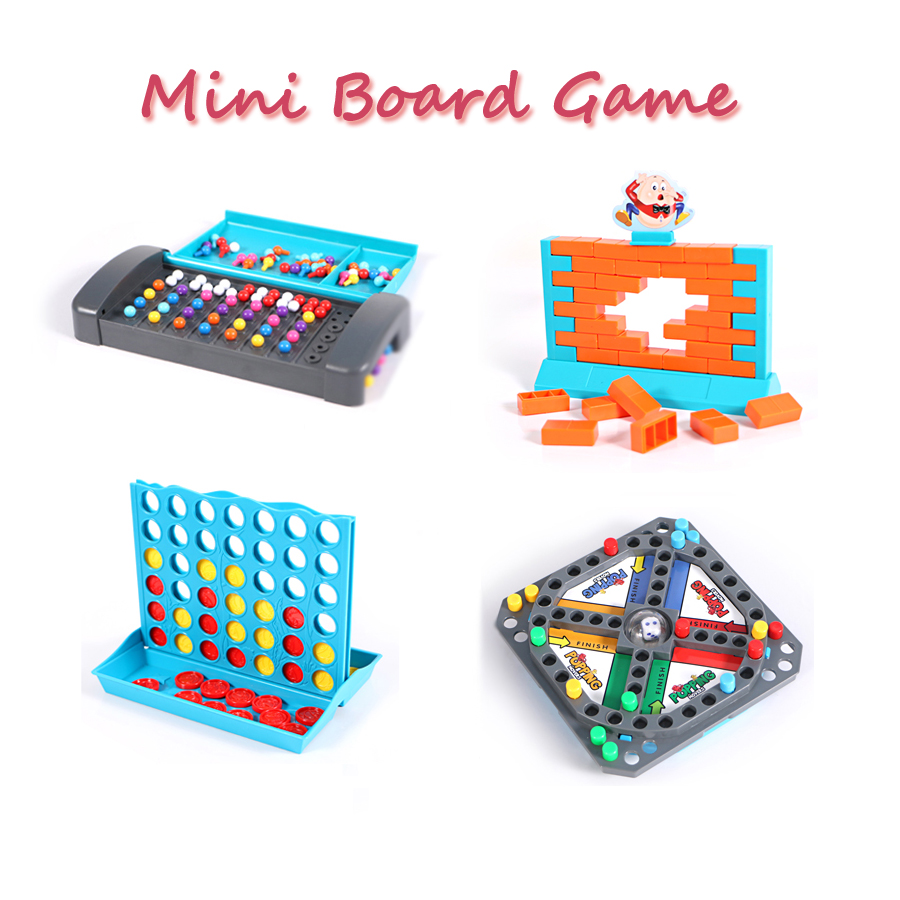 Montessori Mastermind Toys Code Breaking Mini Board Game For Family Traveling Toy Intellectual Development Puzzle Game For Kid(China)