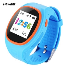 Оригинал Pewant MTK2503 Дети Smart Watch Phone Дети GPS Слежения SOS Smartwatch С WI-FI Безопасный Монитор Для IOS Android Phone