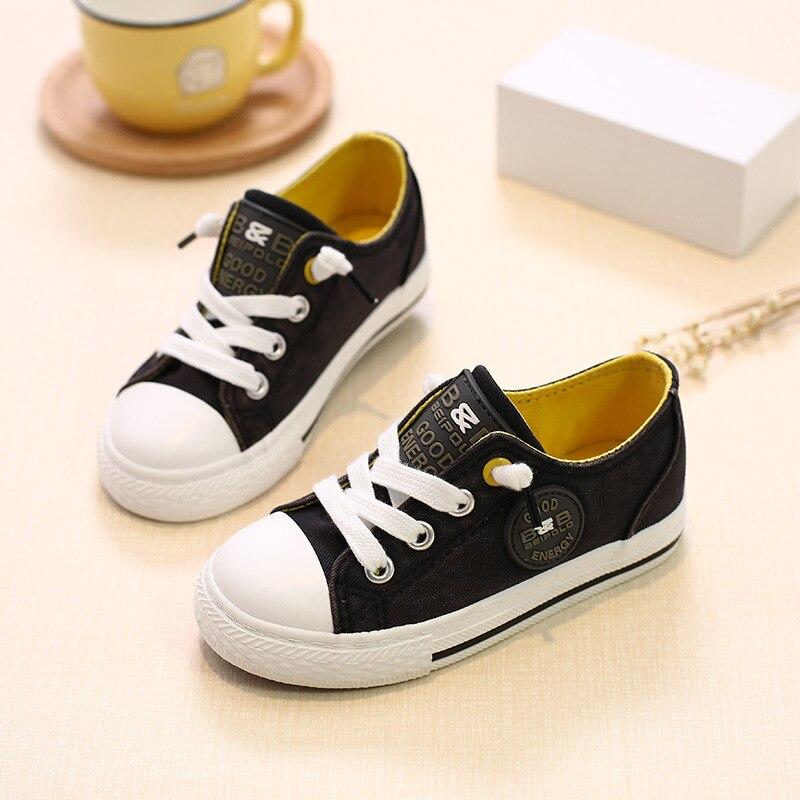 kinderen kinderen canvas schoenen voor meisjes jongens babys 2018 - Kinderschoenen - Foto 4
