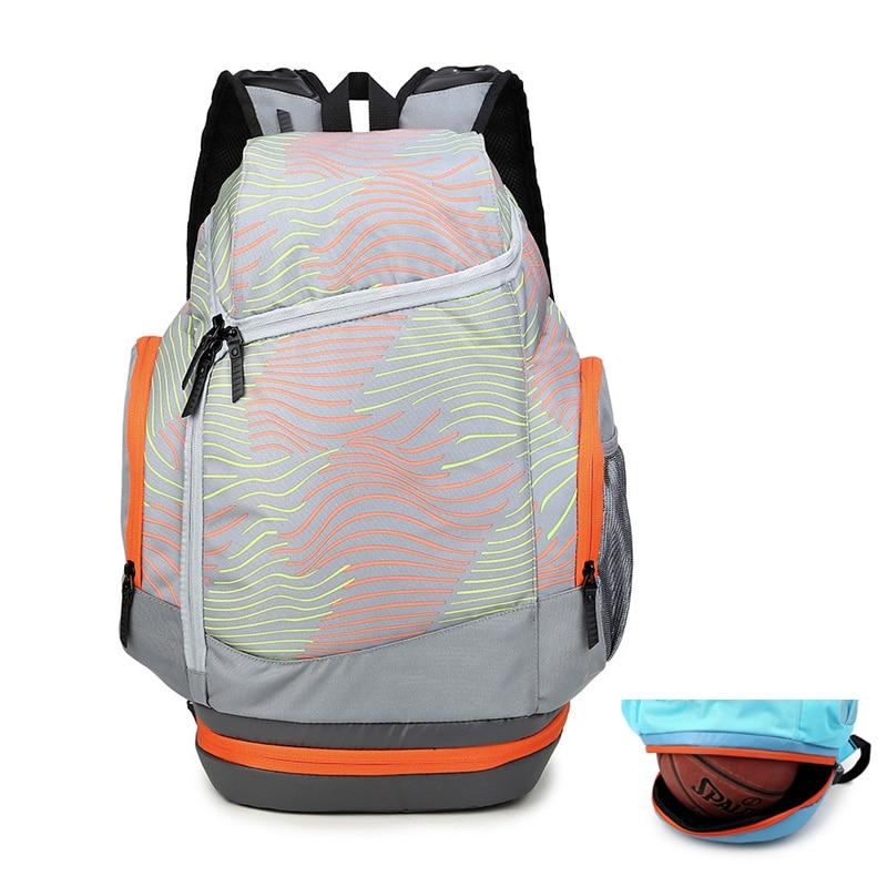 Men Travel Backpacks For Outdoor Gym Bag with Independent Shoes Pocket Basketball Men Sport Laptop Bag