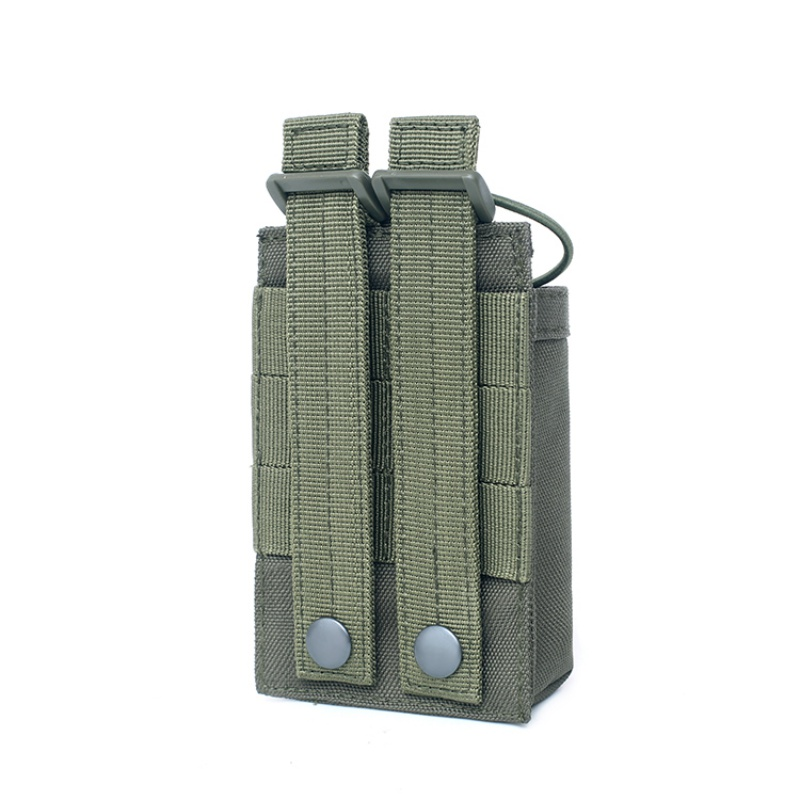 Image 5 - 1000D Nylon Outdoor Tactical Pouch Sports Pendant Military Molle  Radio Walkie Talkie Holder Bag Hunting Magazine Pouches Pocket-in Pouches from Sports & Entertainment