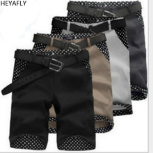 Mens  Shorts Breeches Loose Beach Sports Knickers 100% Cotton Youth Comfortable Breathable Riding breeches