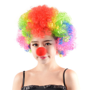 Colorful Clown Cosplay explosi