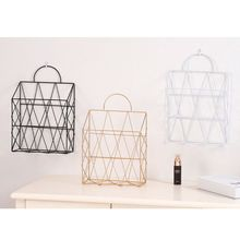 Nordic Style Magazine File Book Rack Desktop Hanging Storage Shelf Office Home