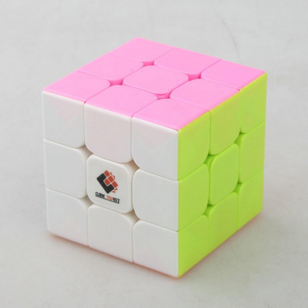 2019 New Arrivals Cube Twist Heibao Professional Design 3x3 Magic Cube Puzzle Toys For Challenging - Colorful