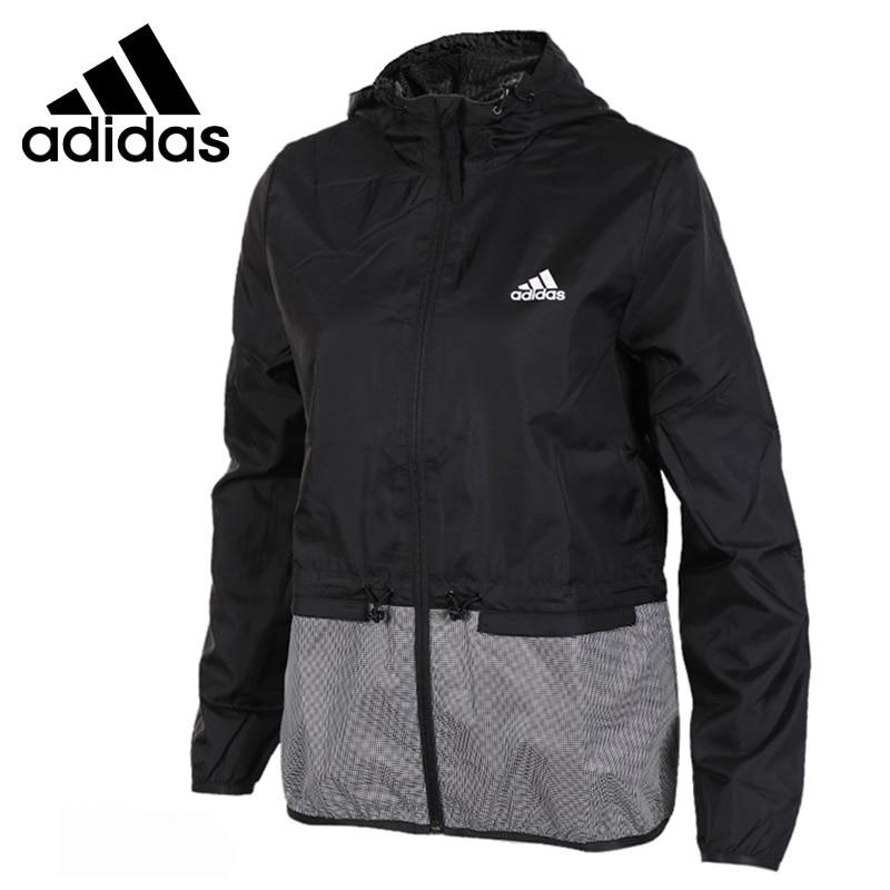 Original New Arrival 2017 Adidas WB MAT SHINY Women's jacket Hooded Sportswear текстмаркер index index imh545 1 мм зеленый