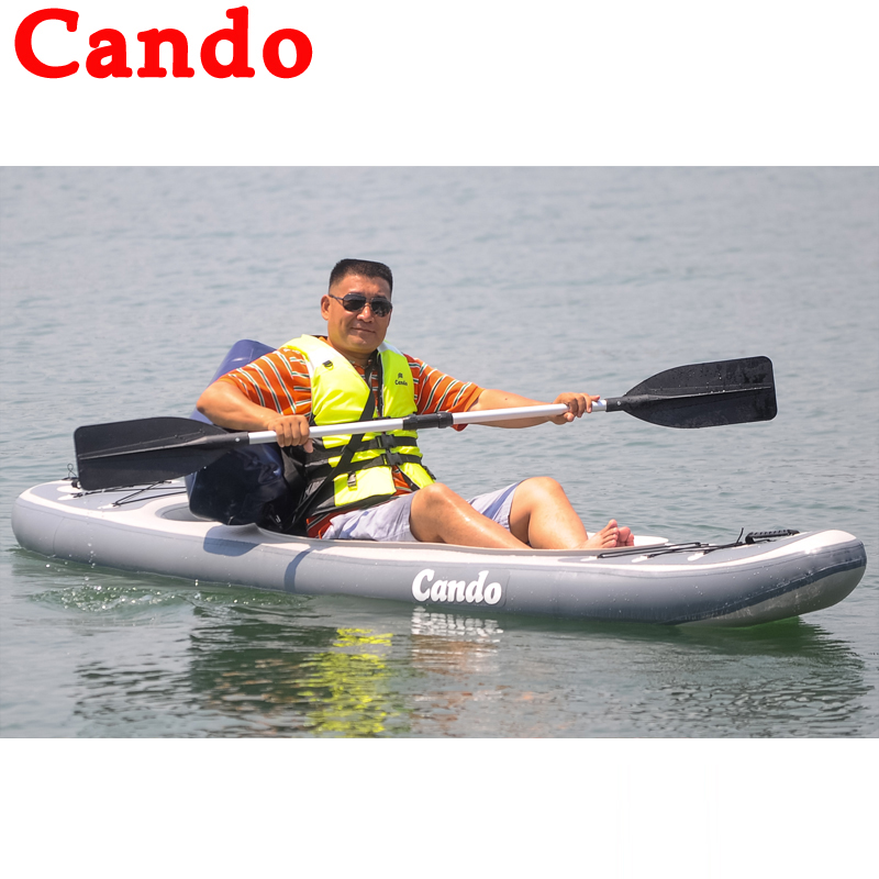 Cando 3.8 Meters Kayak Inflatable Boat Rowing Boat Fishing
