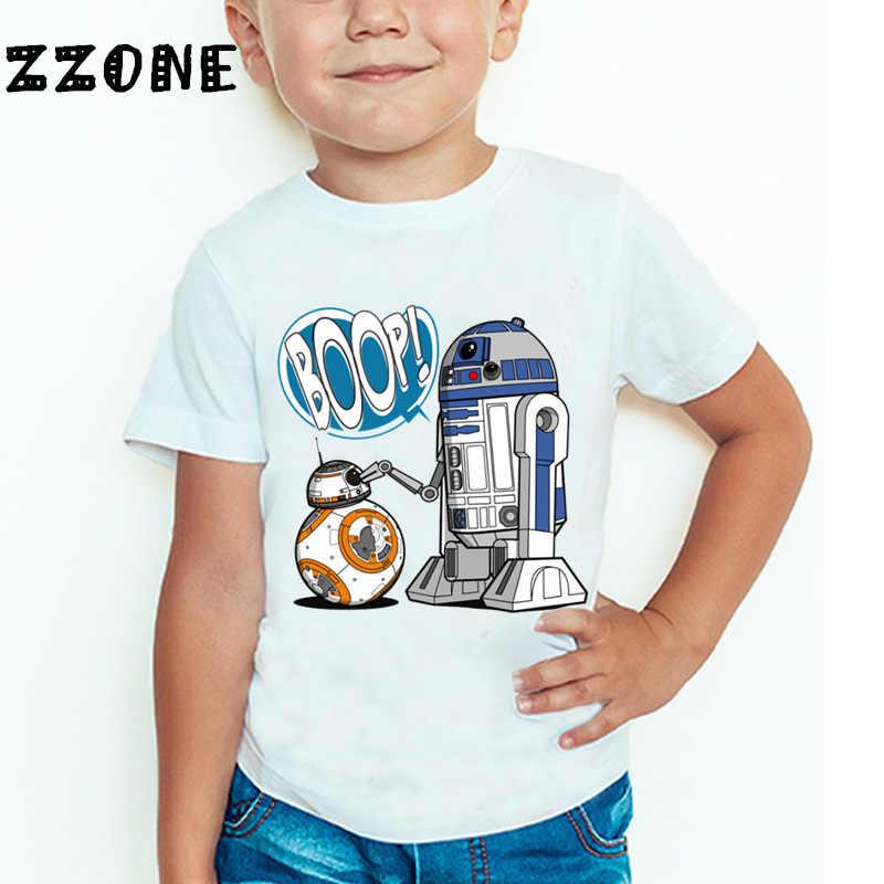 """Star Wars Camiseta para Bebé /"""" R2D2/"""" Niño Niña Robot Diseño Divertido Ropa"""
