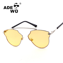 Ade Wu Brand Women's Night Vision Sunglasses Luxury Driving Sun Glasses For Women Or Elegant Female gafas de sol mujer With Case