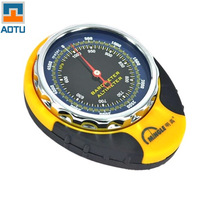 New AOTU Genuine Multifunction Altimeter Watch Compass Altitude Meter Climbing Qibla Table Keychain Brass Compass Survival Mini