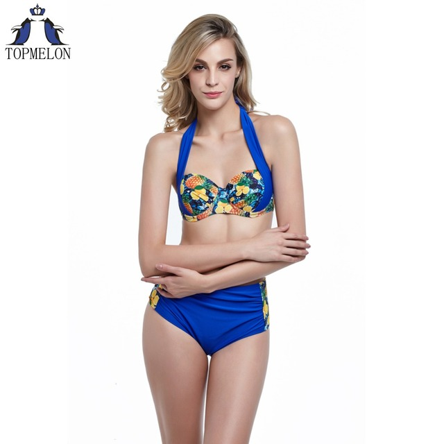 High Waist Bikini Set Swimsuit Women Swimwear