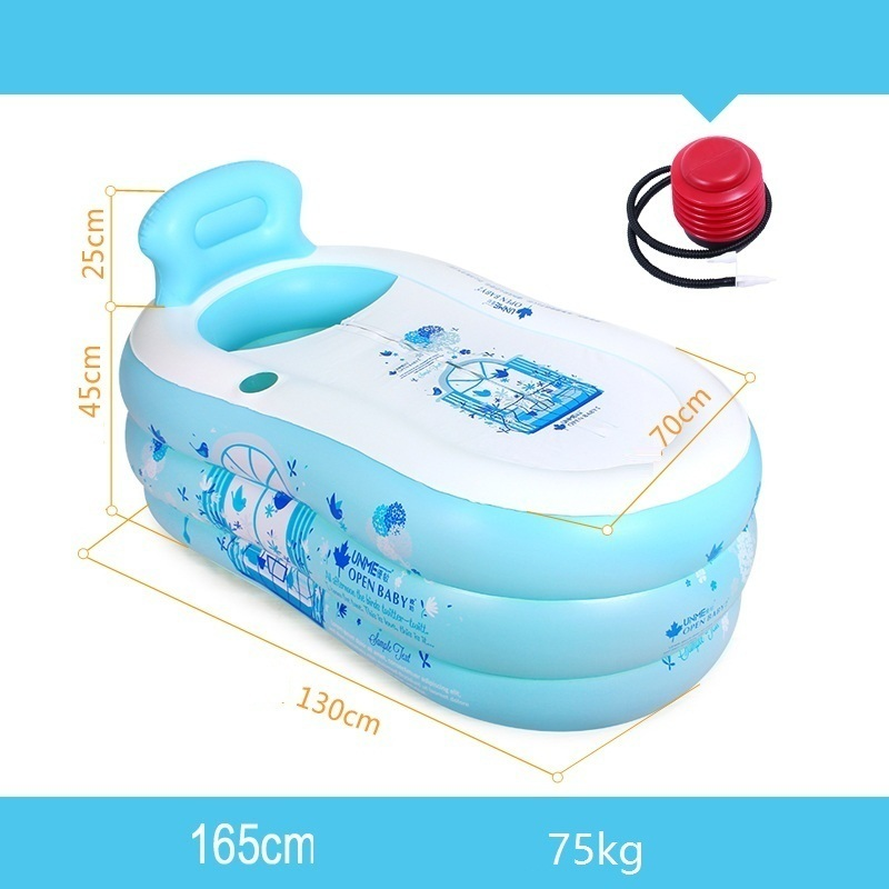 Baignoire Pliable Badkuip Springkussen Foot Adult Portable Inflable Banho Banheira Inflavel Tub Sauna Bath Inflatable Bathtub in Inflatable Portable Bathtubs from Home Garden