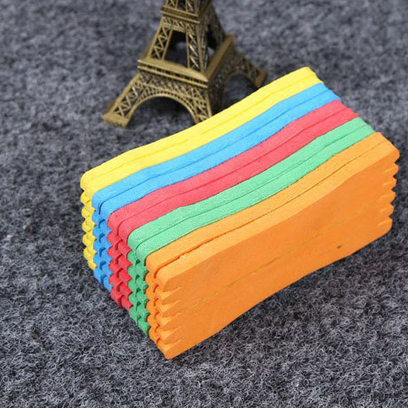 New 10 Pcs Fishing Foam Storage Panels Winding Line Bait Fishing Trace Wire Trap Holders EVA Fishing Hook Plate Face Cruciana