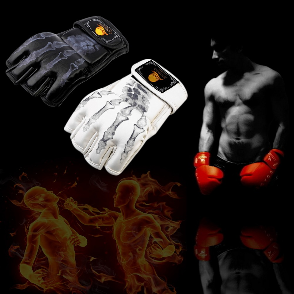 Aliexpress.com : Buy Hot Sale MMA Fight Boxing half finger ...