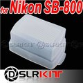 Flash Bounce Diffuser for NIKON SB-800 600 SB800 SB600