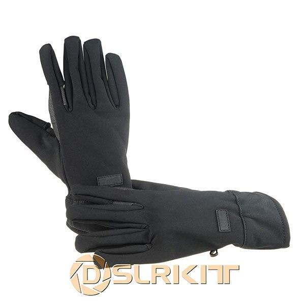 Photography Winter Gloves Mittens For Canon EOS Camera 710D 700D 650D 550D 60D 7D