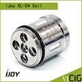 100% original ijoy xl-c4 light-up bobina chip 0.15ohm ijoy ilimitado xl tanque substituição cabeça 3 pçs/lote