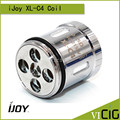 100% original ijoy xl-c4 light-up chip bobina ijoy 0.15ohm ilimitada del tanque xl cabeza de repuesto 3 unids/lote