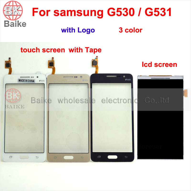 For Samsung Galaxy Prime G530 G531 G531F Touch screen digitizer Lcd Screen Display Panel 100 Tested