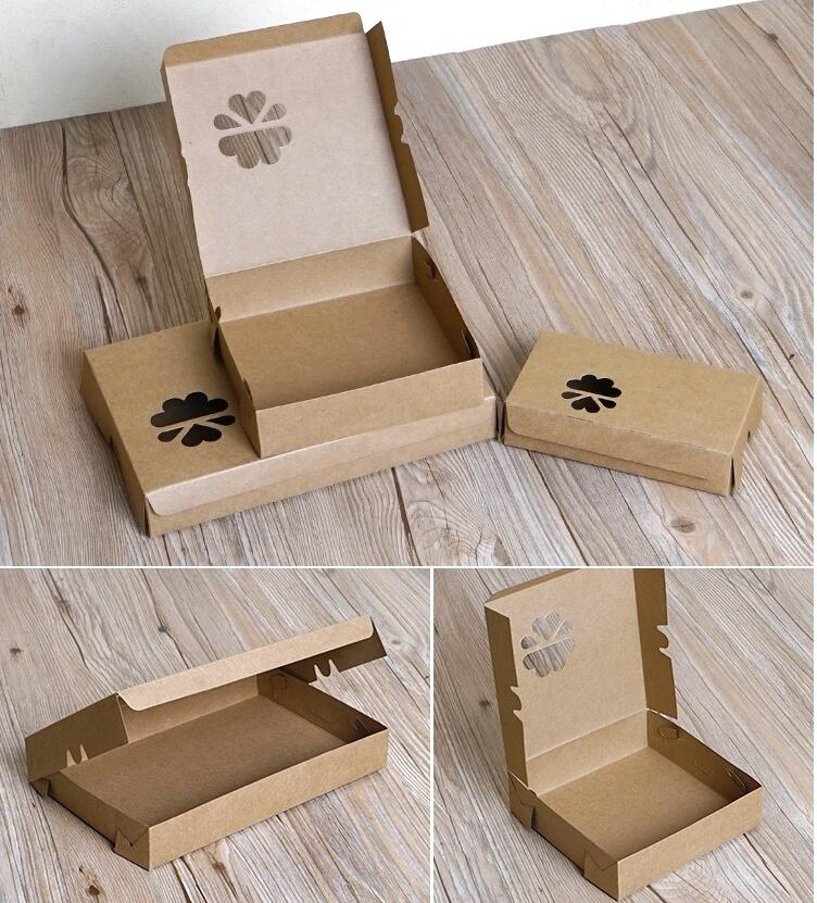 180pcs Brown food box paper,Handmade baking Biscuits/Pizza/Cheese Cake/Egg Tart box pack,Wedding/Brithday party favor design