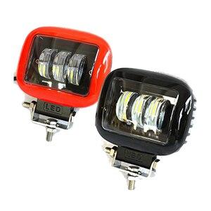 Image 1 - 6D Lens 5 inç Led çalışma ışığı Niva 4x4 Offroad Bar araba Off road için 4WD kamyon ATV suv 12V 24V römork su geçirmez sürüş işıkları