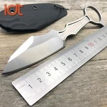 LDT GITFO DA Fixed Blade Knife Tactical Kerambit Knives D2 Blade KYDEX Camping Hunting Knife Pocket Straight Utility EDC Tool