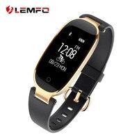 LEMFO S3 Fashional Smart Band Bracelet Heart Rate Monitor Wrist Smartband Lady Female Fitness Tracker Wristband