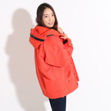 "Newest Edition ""Southplay"" Winter Waterproof 10,000mm Warming Red Color Military Jacket"
