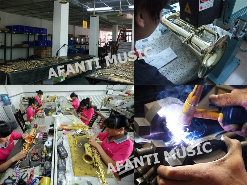 Afanti Música tom Bb Latão Ouro Trompete Laca (ATP-111)
