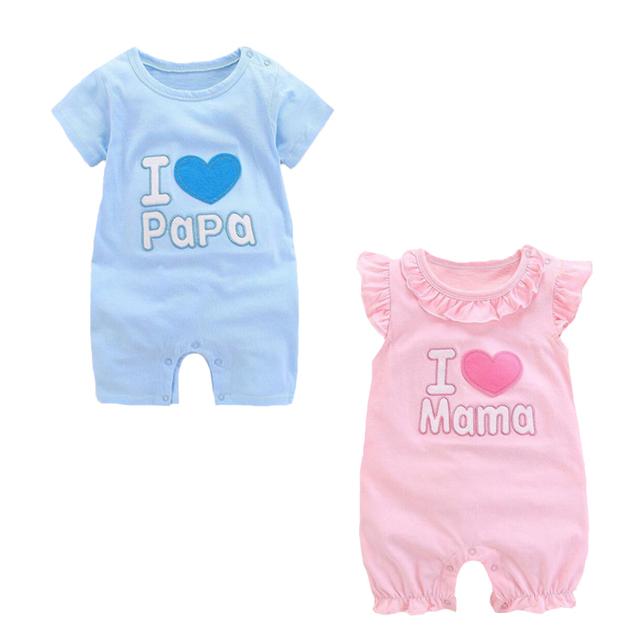 01f4ec27c174 Newborn twins Baby clothes boys girls bodysuit heart 0 3 3 6 6 9 ...