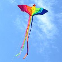 Высокое качество Радужный Феникс летучие птицы летучие змеи с ручкой линия Орел воздушный змей нейлон Рипстоп вейфан воздушный змей завод