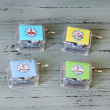 Hand Jingle Cats Acrylic Gift Box Creative Gift Ornaments Music Box