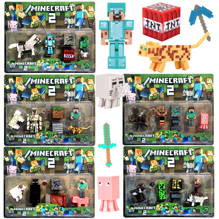 Mylb Minecraft Meine welt Bausteine Ziegel Verschiedene Modelle ...