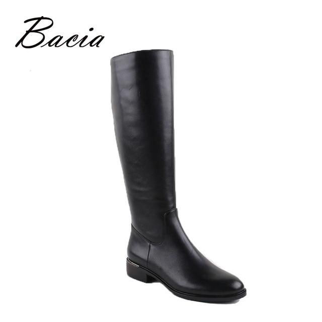 Bacia/Русский Оригинальный дизайн сапоги по колено на платформе натуральная кожа качества обувь ручной работы Короткие Плюшевые Ботинки женские боты VC001