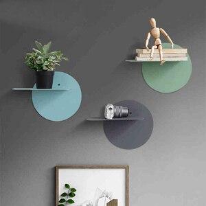 Collalily Nordic dekoracje ścienne magazynek uchwyty do przechowywania stojaki drewniane nowoczesne Macaron Design wieszak na szyny korytarza bookrack